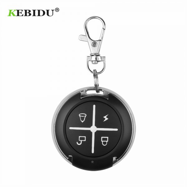 KEBIDU 433Mhz Remote Control Controller For Gate Wireless RF 4 Channel Electric Cloning